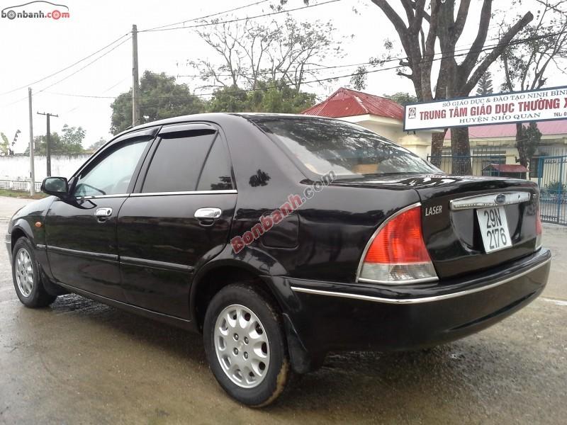 Bán ô tô Ford Laser MT 2001, màu đen còn mới