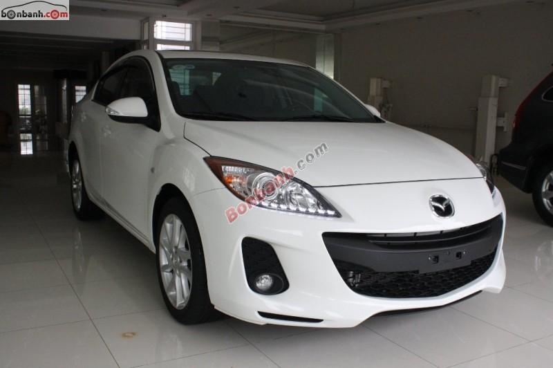 Cần bán lại xe Mazda 3 S đời 2014, màu trắng, 725Tr
