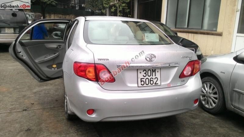 Cần bán gấp Toyota Corolla XLi 2008, màu bạc, xe rất tốt, rất giữ