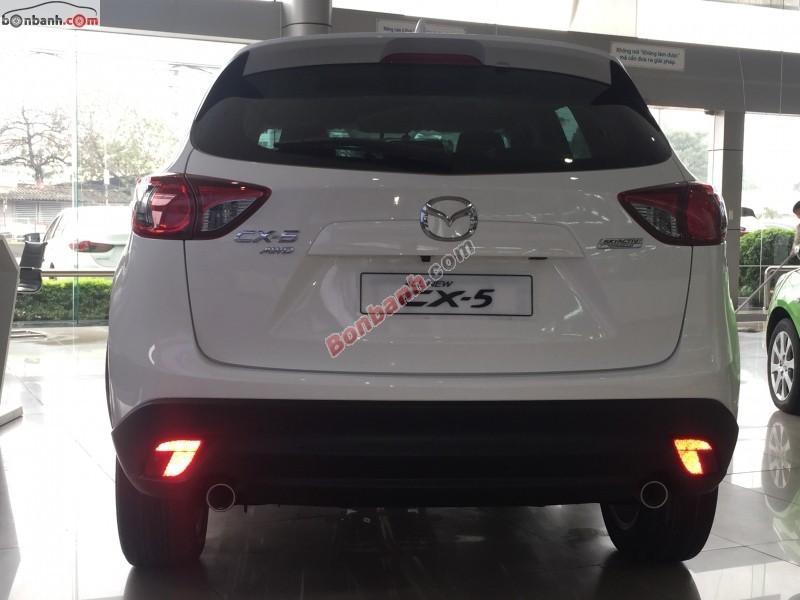 Cần bán xe Mazda CX 5 2WD 2.0L đời 2015, màu trắng