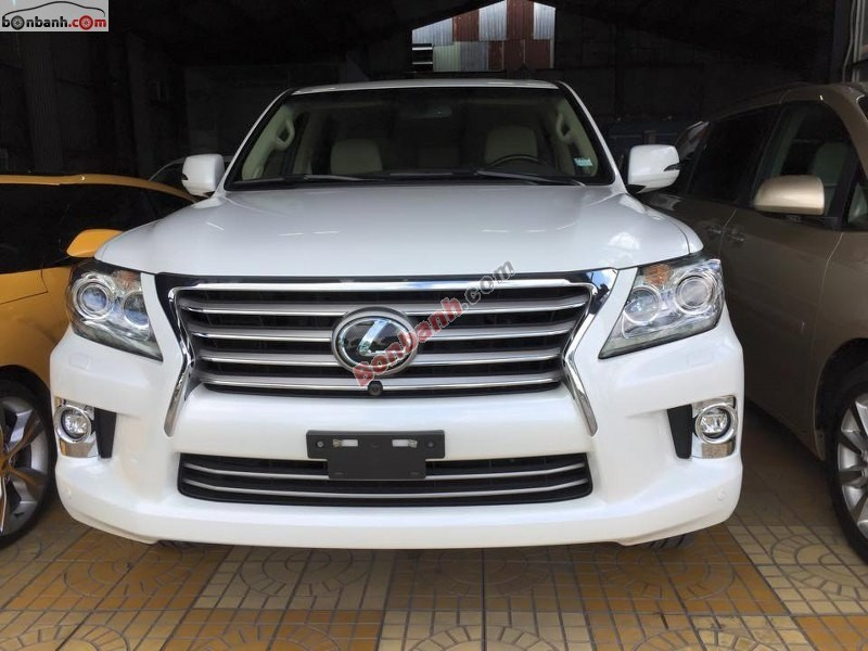 Cần bán xe Lexus LX 570 đời 2014, màu trắng, nhập khẩu nguyên chiếc