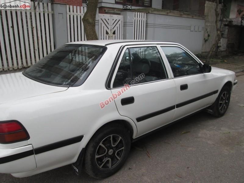 Bán xe Toyota Corolla 1.6 GLI năm 1991, màu trắng, nhập khẩu chính chủ, giá 105Tr