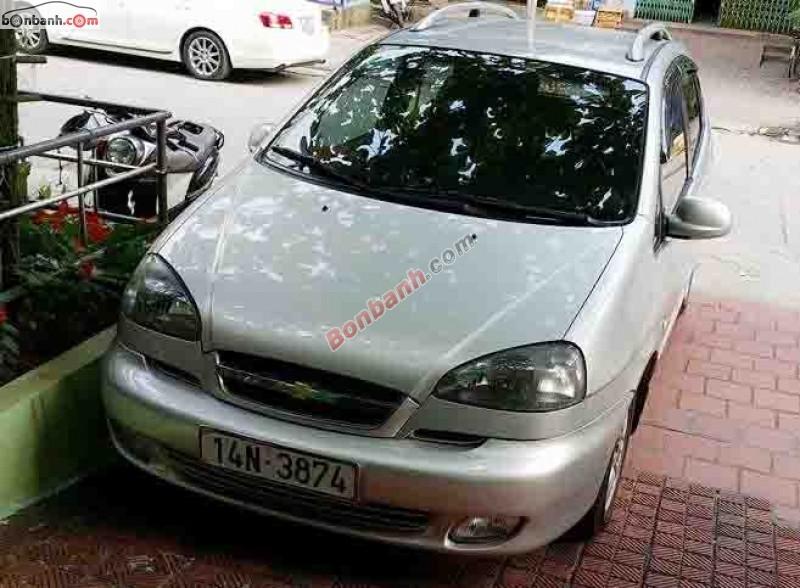 Chevrolet Vivant đời 2008, màu bạc, chính chủ