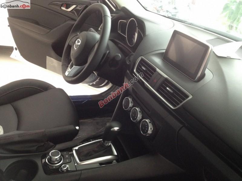 Cần bán Mazda 3 All New đời 2015, màu trắng tại Mazda Hải Phòng