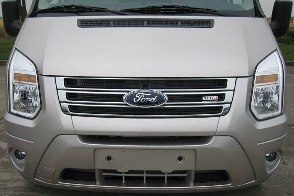 Bán xe Ford Transit Mid 2014, màu bạc số sàn - Thủ tục đơn giản nhanh chóng
