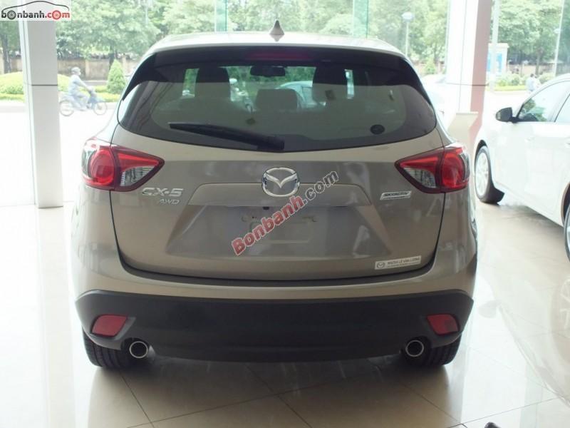 Bán xe Mazda CX 5 2.0AT 2WD năm 2015 tại Mazda Lê Văn Lương