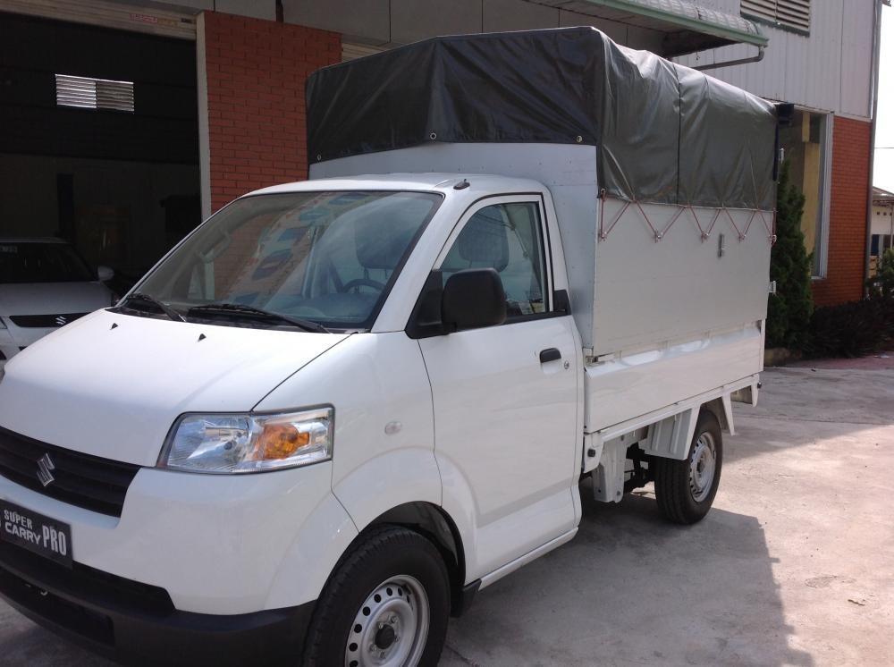 Cần bán Suzuki Super Carry Pro đời 2014, màu trắng, nhập khẩu chính hãng