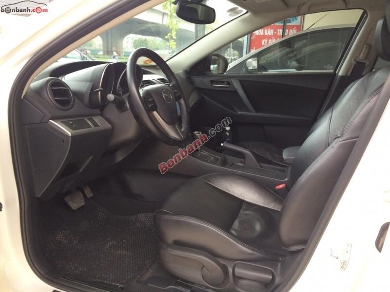 Cần bán lại xe Mazda 3 S đời 2013, màu trắng, xe cực đẹp, chạy được 59.000 km