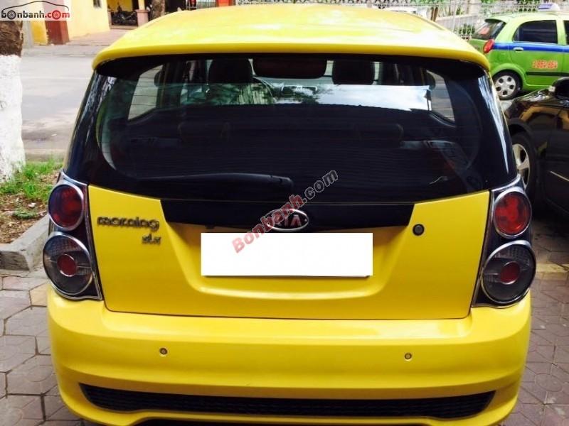 Cần bán lại xe Kia Morning SLX đời 2010, màu vàng, nhập khẩu chính hãng số tự động