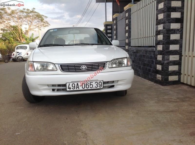 Xe Toyota Corolla 1.6 GLi đời 1998, màu trắng, nhập khẩu nguyên chiếc cần bán