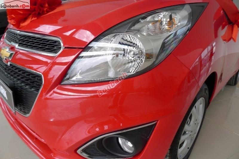 Cần bán xe Chevrolet Spark LTZ năm 2015, màu đỏ, 392 triệu