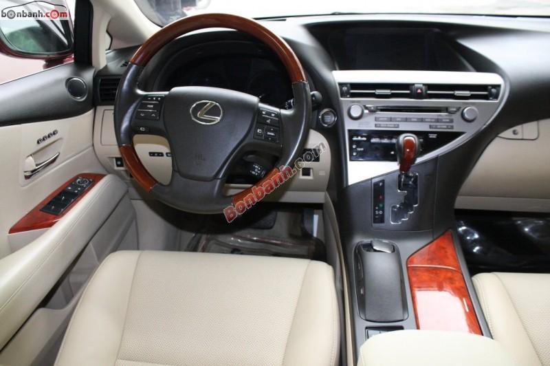 Bán xe Lexus RX 350 sản xuất 2010, màu đỏ, xe nhập chính chủ