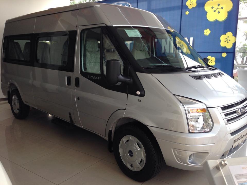 Bán Ford Transit đời 2014, màu bạc, giá 826tr nhanh tay liên hệ