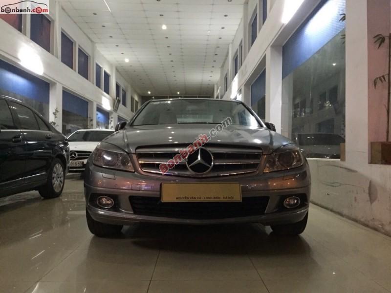 Bán Mercedes C250 CGI 2009, màu bạc, giá chỉ 800 triệu
