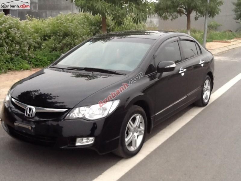 Bán ô tô Honda Civic 2.0AT 2008, màu đen chính chủ, giá tốt