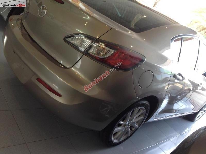 Xe Mazda 3 S sản xuất 2013, màu vàng xe gia đình, 635tr cần bán