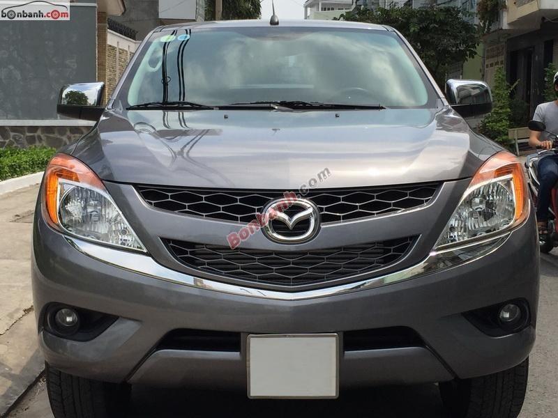 Bán xe Mazda BT 50 MT sản xuất 2012, màu xám, xe nhập còn mới, 560Tr