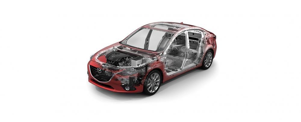 Bán Mazda 3 1.5L năm 2014, màu xám, giá 769Tr