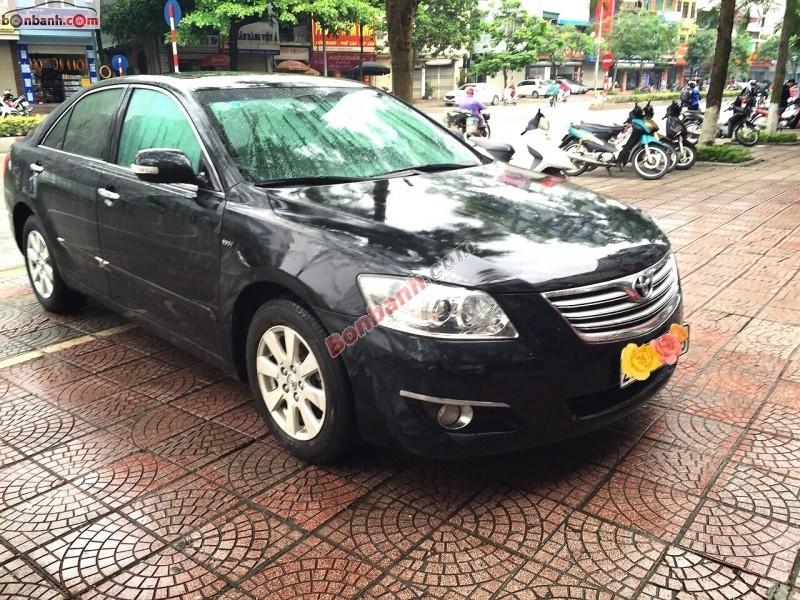 Xe Toyota Camry 2.4G 2007, màu đen, nhập khẩu số tự động, giá tốt