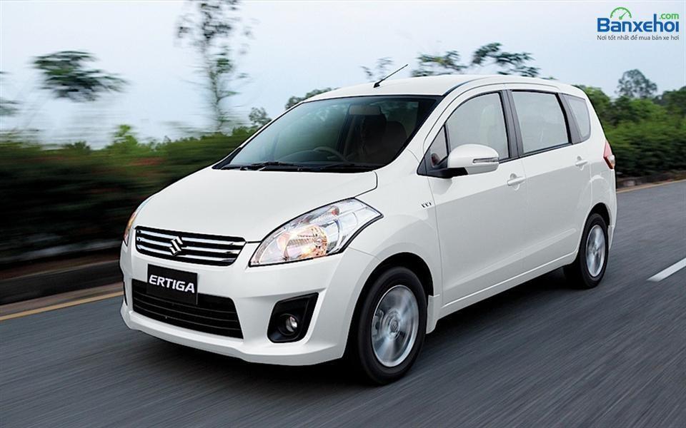 Cần bán Suzuki XL 7 GLX sản xuất 2014, màu trắng, xe nhập, giá 599Tr