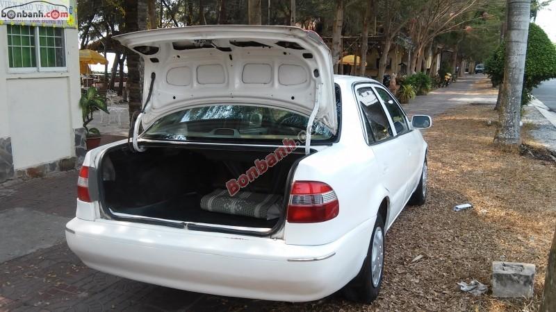 Bán ô tô Toyota Corolla XL sản xuất 2000, màu trắng, giá tốt nhanh tay liên hệ