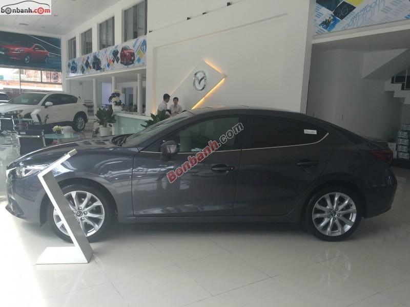 Bán ô tô Mazda 3 2.0AT 2015, màu đen, xe có vẻ đẹp hiện đại và rất đặc trưng