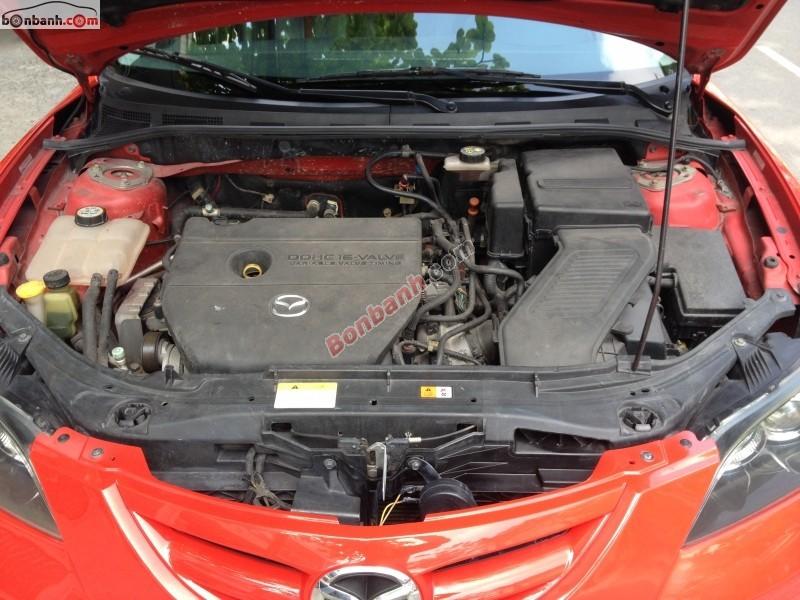 Cần bán lại xe Mazda 3 2.0S đời 2009, màu đỏ, nhập khẩu chính hãng số tự động, giá chỉ 528 triệu