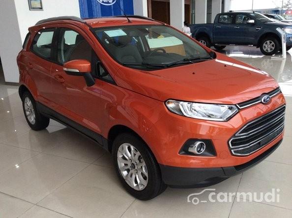 Cần bán xe Ford Fiesta đời 2015, màu đỏ cam, giá chỉ 651 triệu