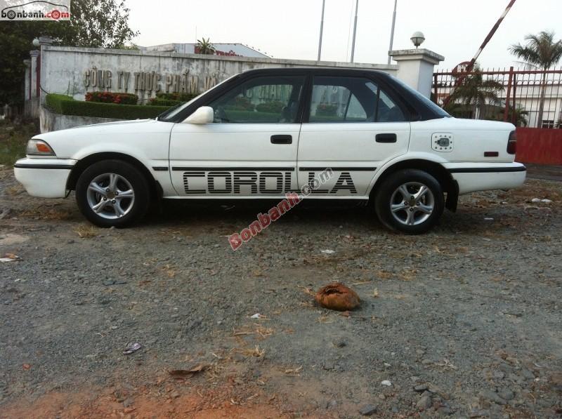 Bán Toyota Corolla 1.6DX năm 1990, màu trắng, nhập khẩu còn mới