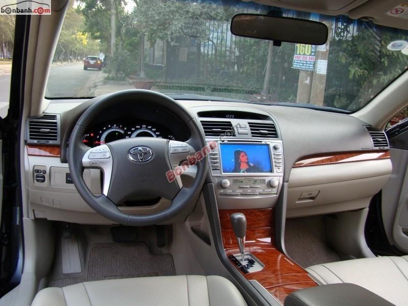 Bán ô tô Toyota Camry 2.4G đời 2008, màu đen xe gia đình