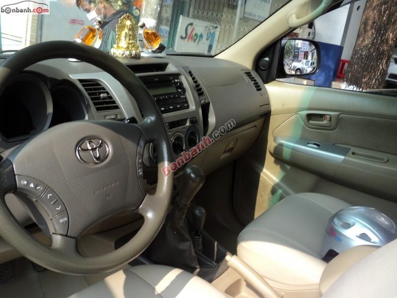 Bán Toyota Hilux G 3.0MT sản xuất 2009