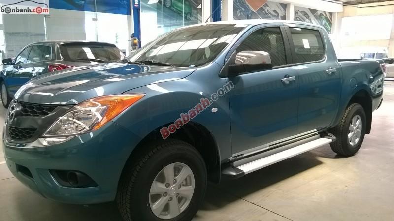 Cần bán xe Mazda BT 50 2.2MT sản xuất 2015, xe nhập, giá 649tr tại Mazda Biên Hòa