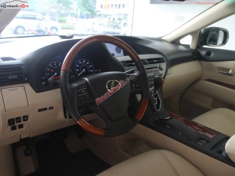 Cần bán lại xe Lexus RX 350 đời 2009, màu đen, nhập khẩu số tự động