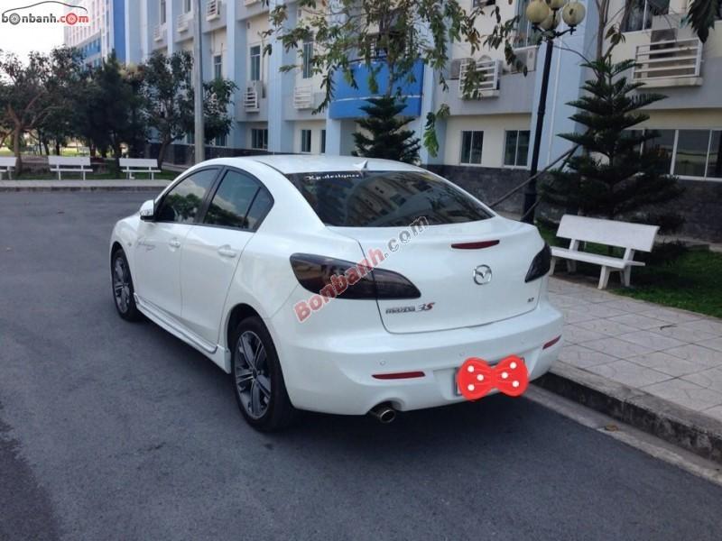 Cần bán lại xe Mazda 3 S đời 2014, màu trắng, xe không cấn đụng, không ngập nước