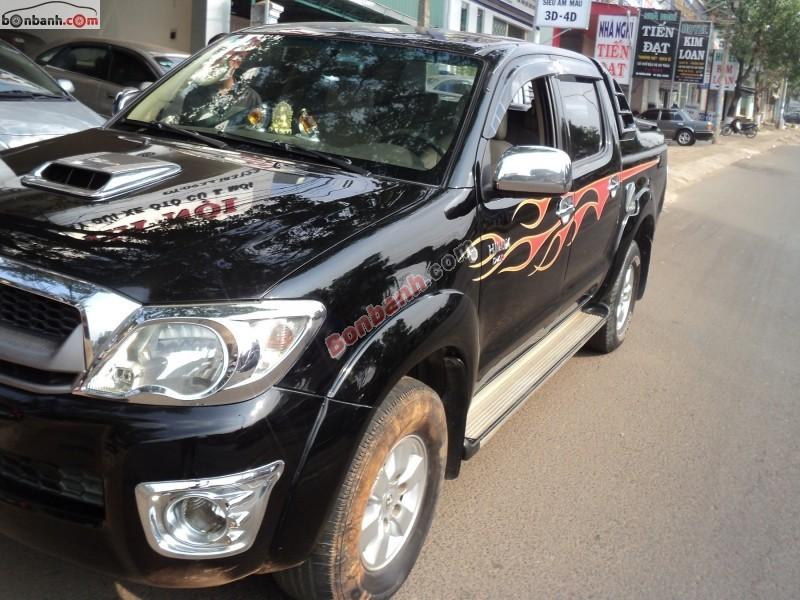 Cần bán xe Toyota Hilux G 3.0MT đời 2009, màu đen, nhập khẩu chính hãng, giá 480tr nhanh tay liên hệ