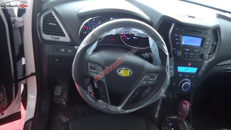 Bán Hyundai Santa Fe 2.2 CRDi đời 2015, màu trắng