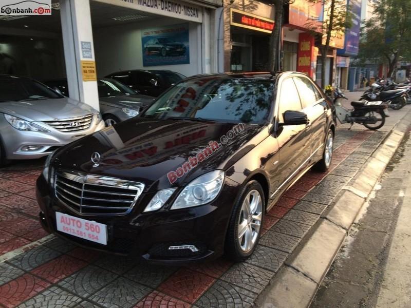 Cần bán Mercedes E250 CGI đời 2010 - Tặng 20% phí bảo hiểm thân vỏ xe cho khách hàng mua xe cũ
