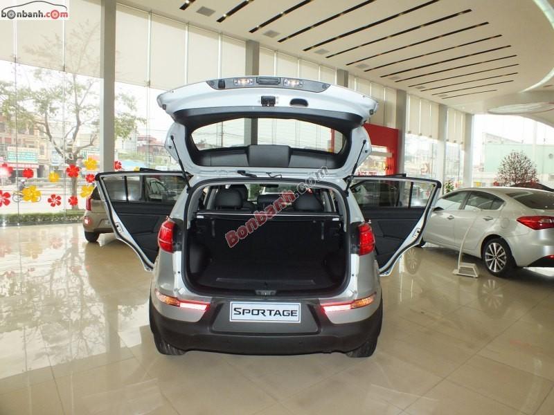 Bán xe Kia Sportage đời 2015, màu bạc, nhập khẩu
