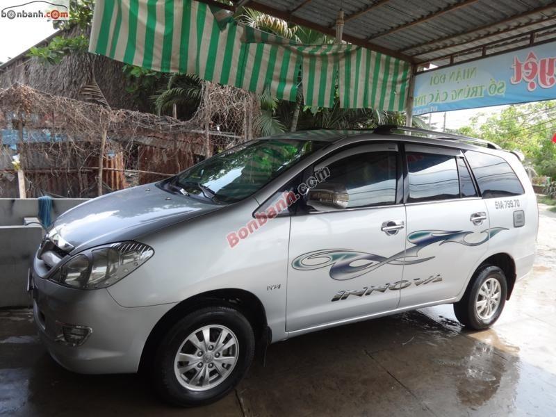 Cần bán xe Toyota Innova đời 2007, 370tr, xe đẹp