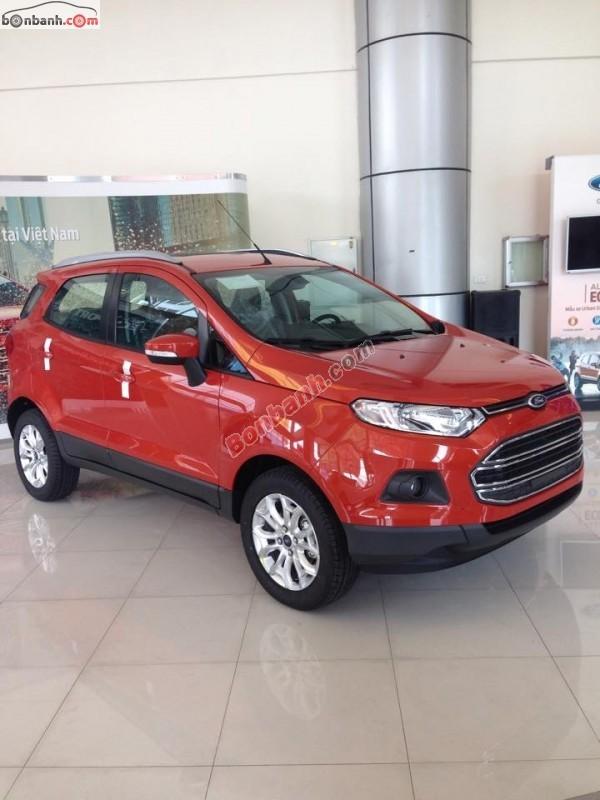 Cần bán xe Ford EcoSport Titanium 1.5L AT đời 2015, màu đỏ