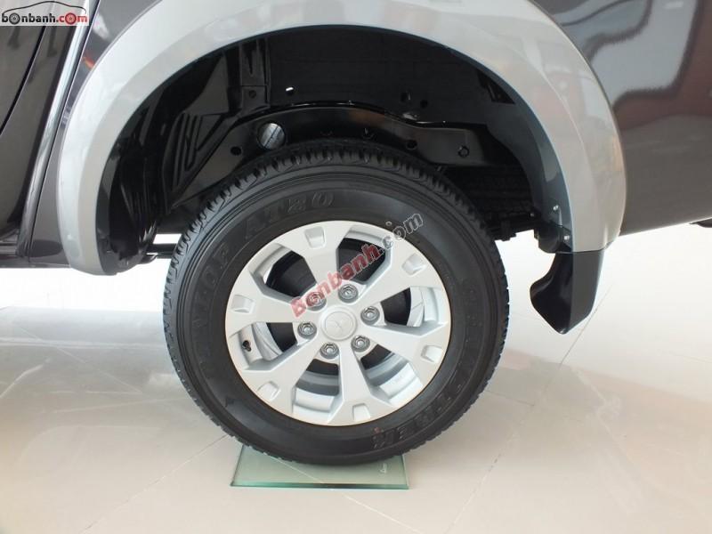 Bán xe Mitsubishi Triton GLS MT đời 2015, màu xám, nhập khẩu chính hãng