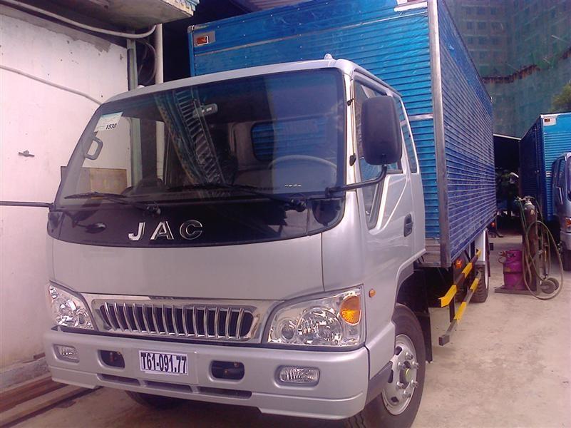 Xe tải Jac 4.9 tấn, giá xe tải Jac 4.9 tấn, mua xe tải Jac 4.9 tấn, mua xe tải Jac tặng 3 chỉ vàng