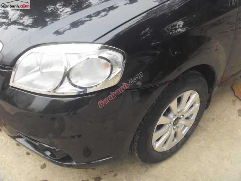 Cần bán Daewoo Gentra năm 2009, màu đen chính chủ