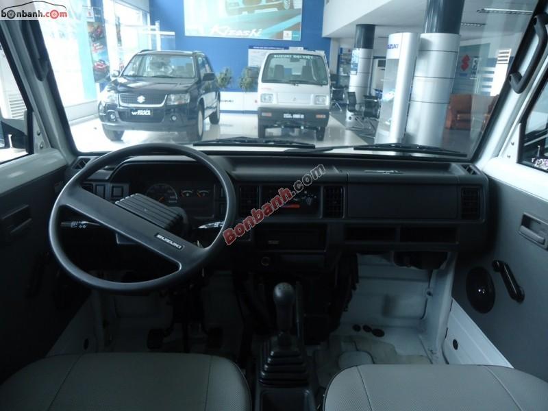 Cần bán Suzuki Super Carry Van Blind van sản xuất 2015, màu trắng
