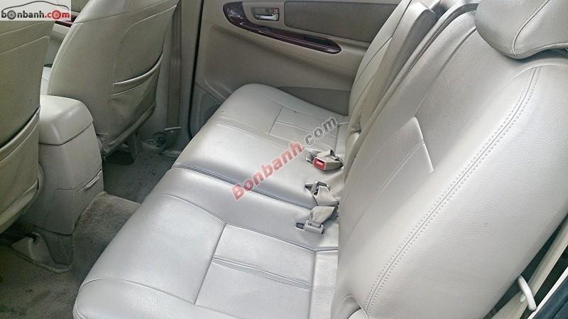 Bán xe Toyota Innova G đời 2006, màu đen, giá 450tr