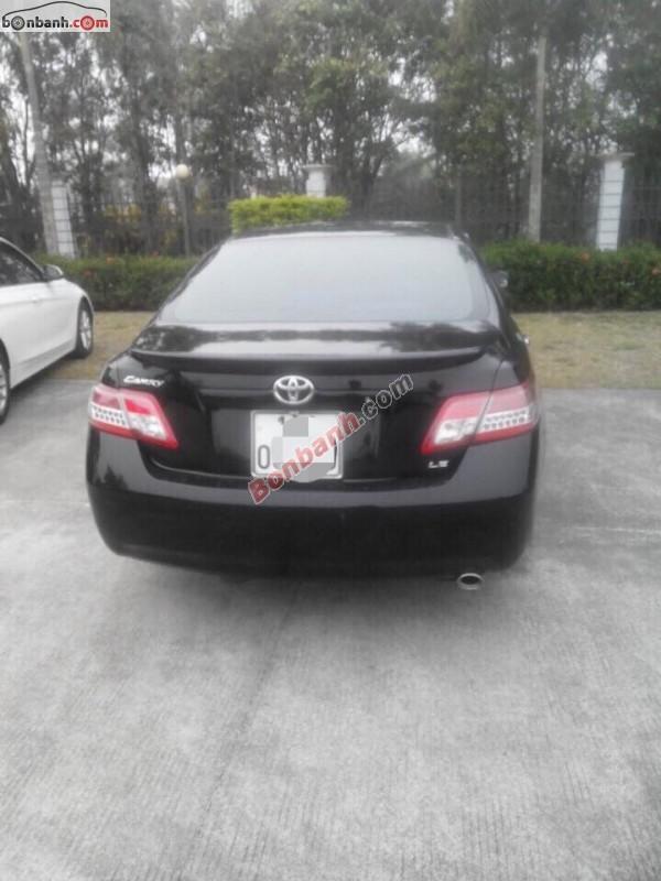 Toyota Camry LE đời 2008, màu đen, nhập khẩu, xe gia đình