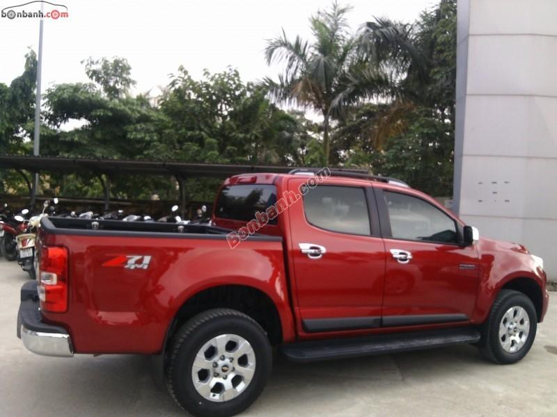 Cần bán Chevrolet Colorado Sport Edition đời 2015, màu đỏ, nhập khẩu chính hãng, giá chỉ 719 triệu