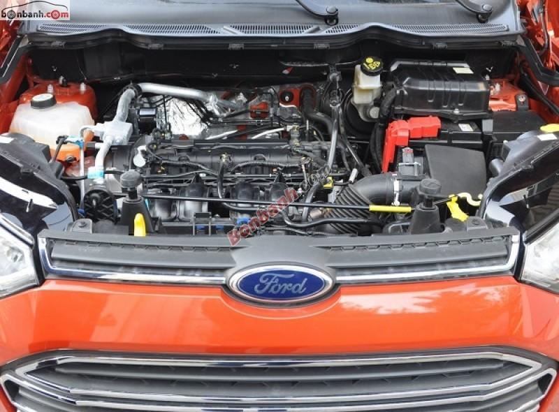 Bán ô tô Ford EcoSport 1.5AT năm 2015, màu đỏ, động cơ Eco mạnh mẽ