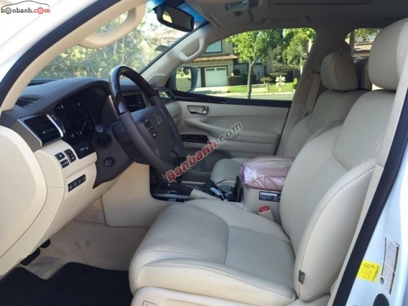 Bán ô tô Lexus LX đời 2015, màu trắng, nhập khẩu nguyên chiếc