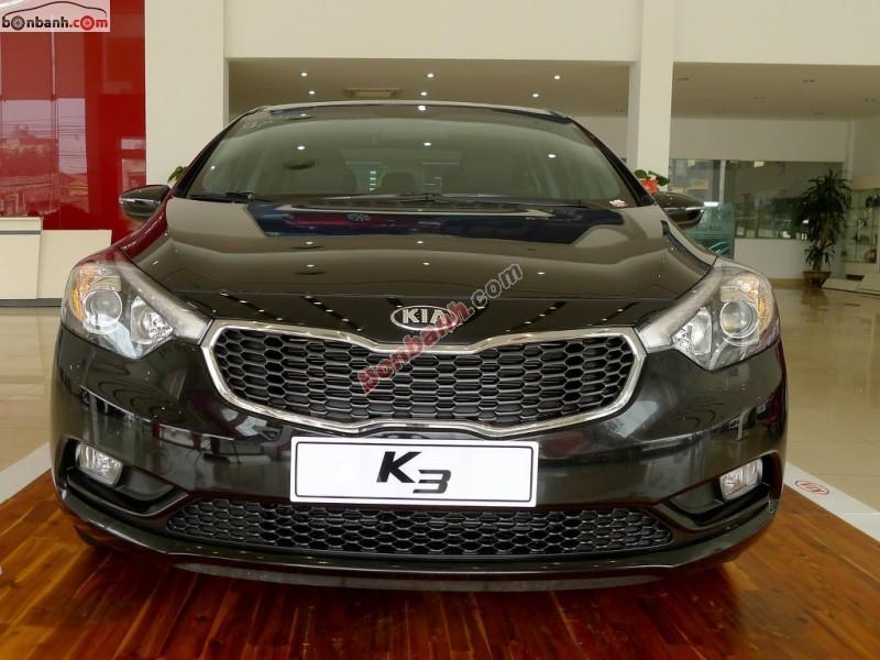 Bán xe Kia K3 1.6AT đời 2015, màu đen, 660Tr